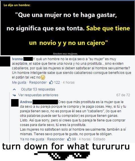 Batalla de sexos en Facebook