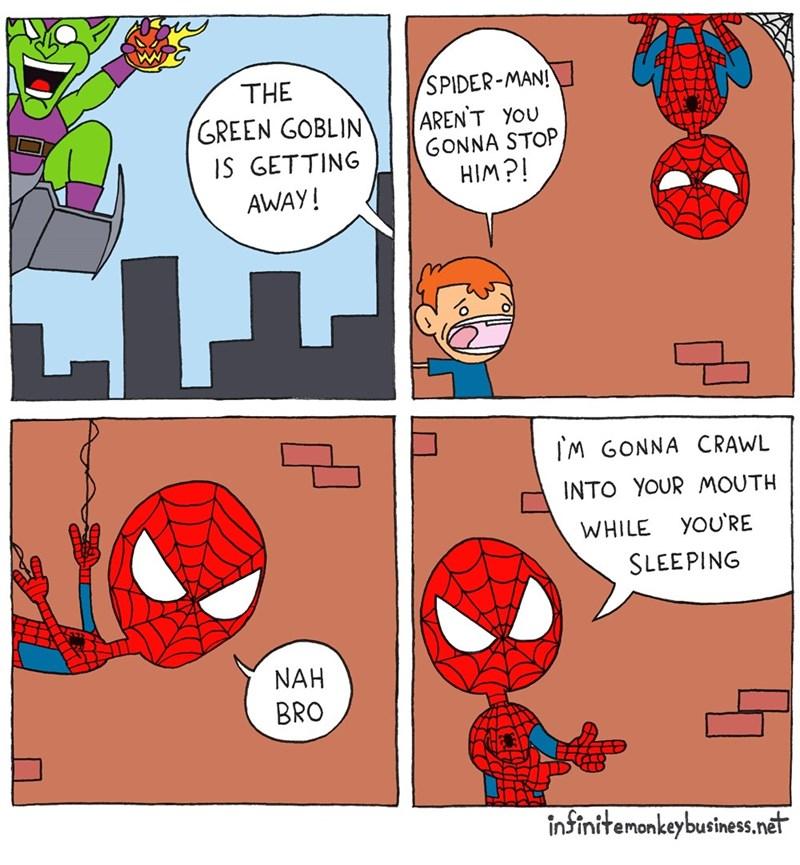 spider-man-web-comics-green-goblin-getaway-trolling