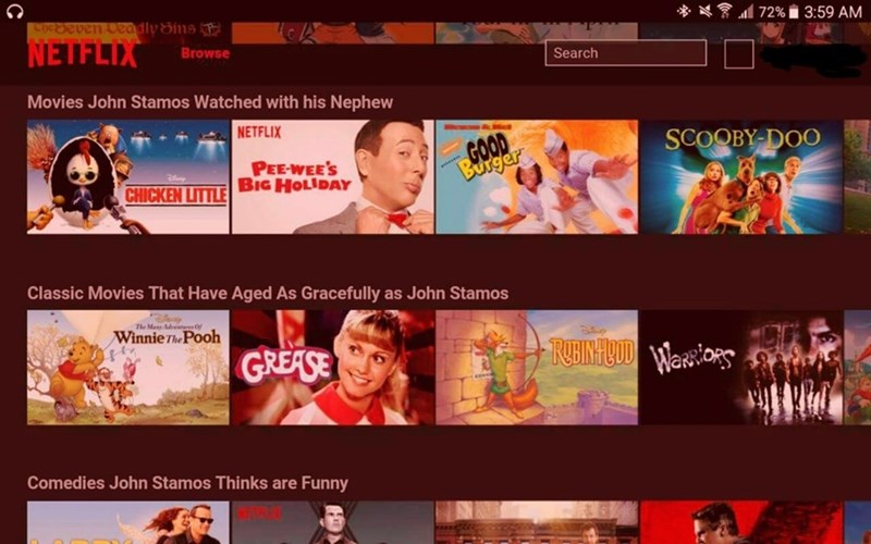 "john stamos netflix april fools Netflix's New Slogan: ""Have Mercy!"""