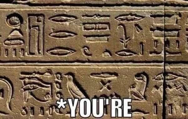 history grammar meme Grammar Nazi's Have Always Been Around