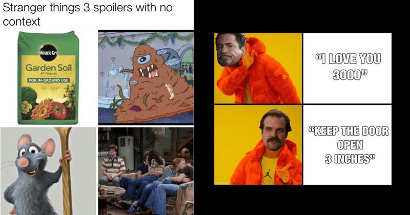 stranger things memes, netflix