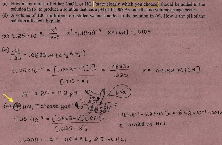 pokemon test chemistry Let's Hope This Answer is Super Effective