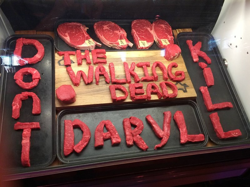 Even Butchers Love Daryl