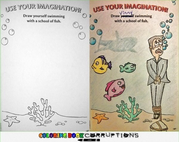 coloring fish imagination It'd Be a Shame to See Your Imagination Become Reality...