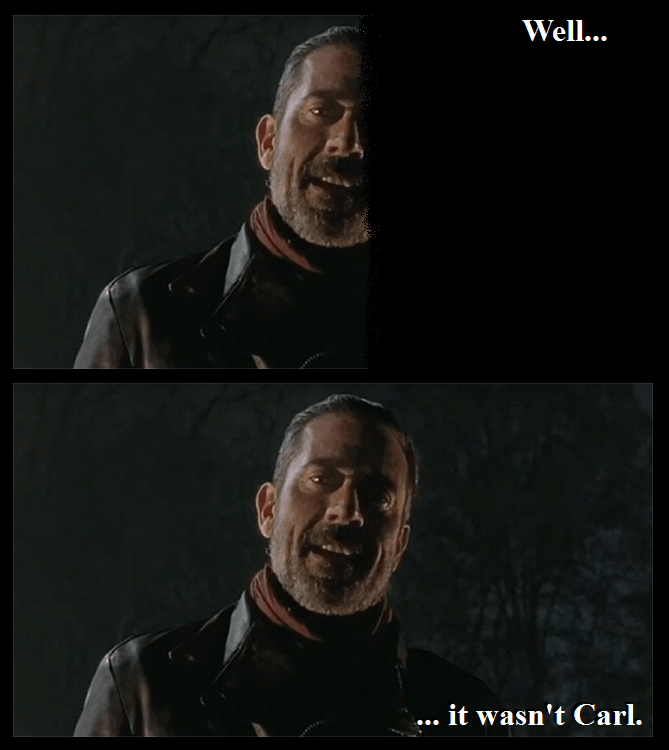 The Walking Dead,negan
