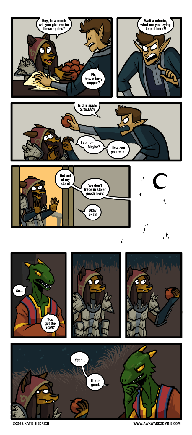 web-comics-video-games-skyrim-truth