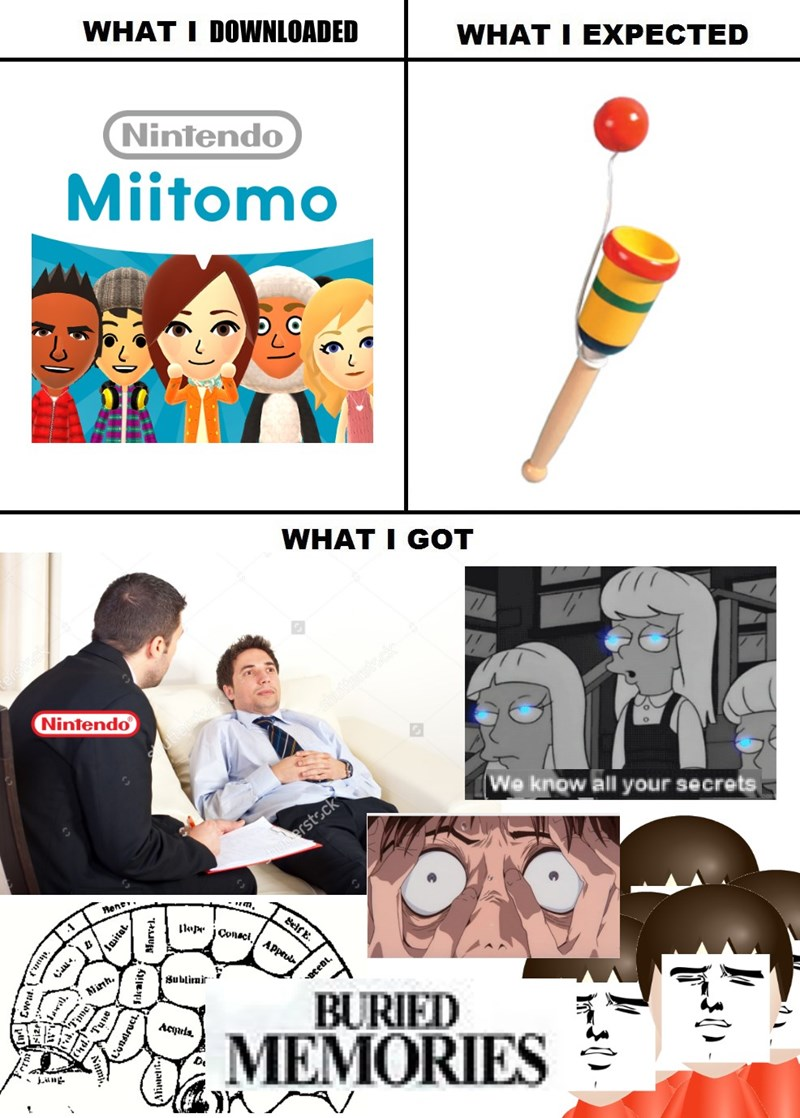 expectations vs reality nintendo truth miitomo - 8764371712