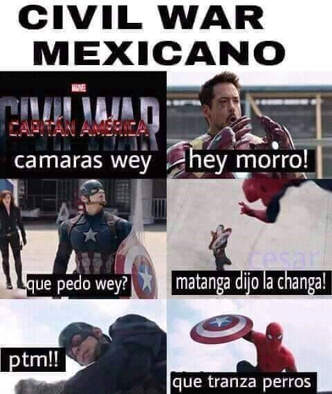 civil war en español