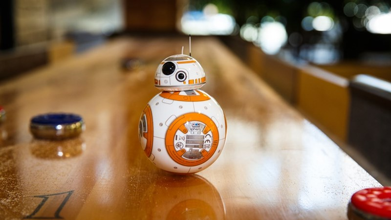 cute robots star wars This Tiny Bb-8 Droid Will Watch and React to 'Star Wars: The Force Awakens' With You