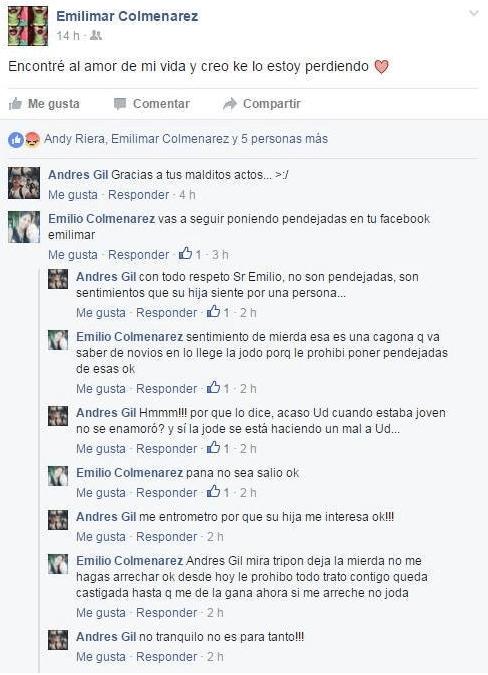 amor en facebook