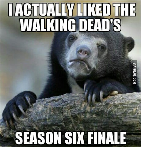 i actually liked twd finale