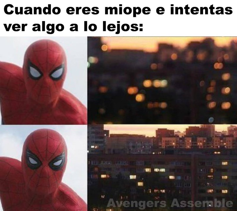 eres miope