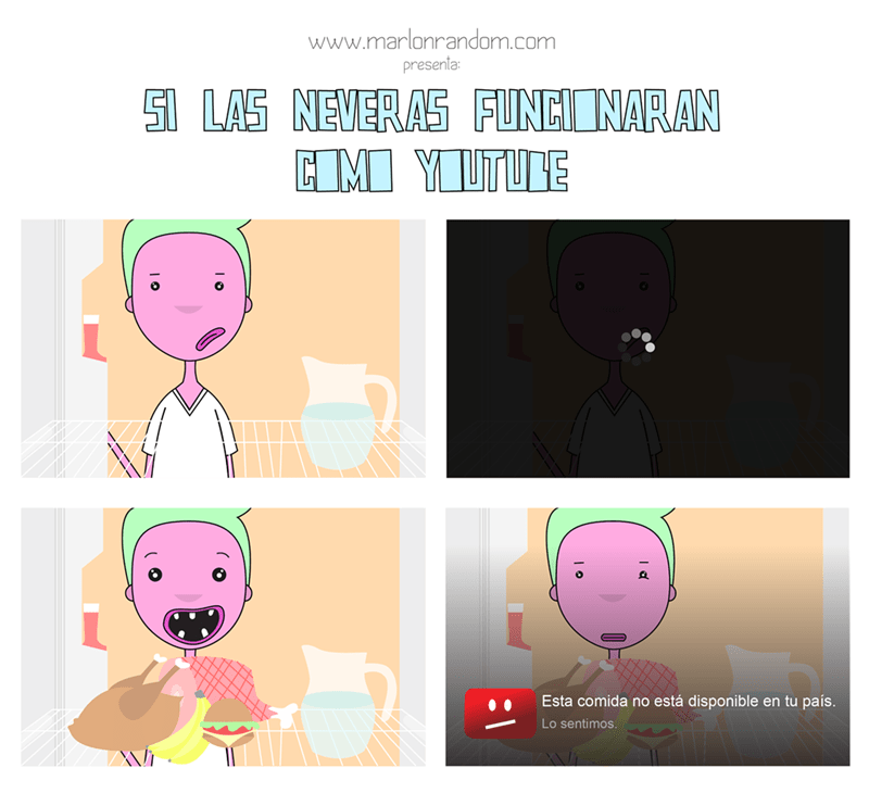 las neveras como youtube