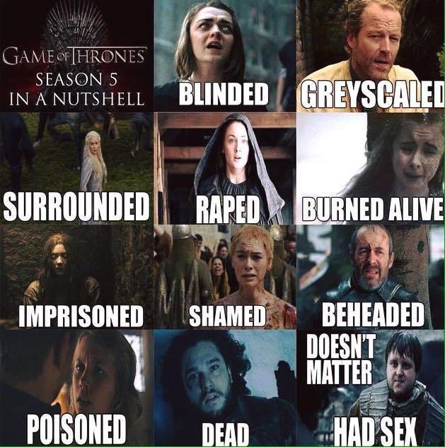 season 5 in a nutshell