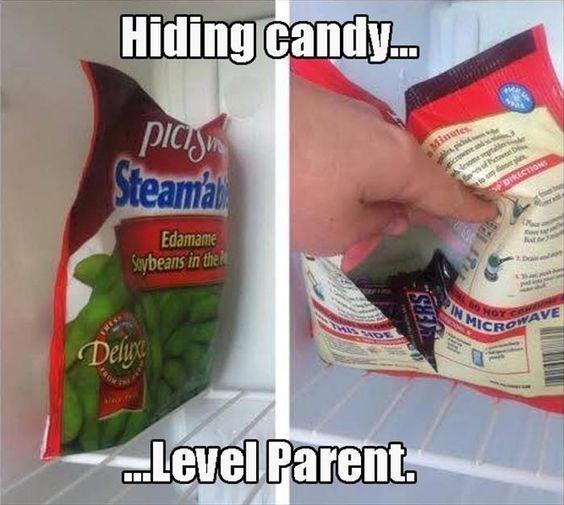 candy,secret,parenting