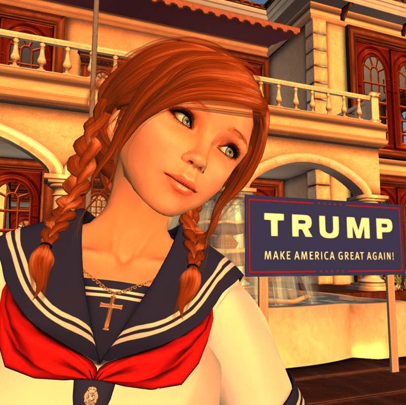 donald-trump-anime-second-life-mansion-knockoff-win