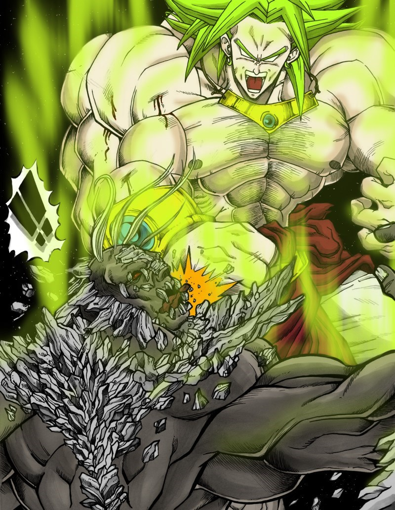 super saiyan anime broly win - 8765353216