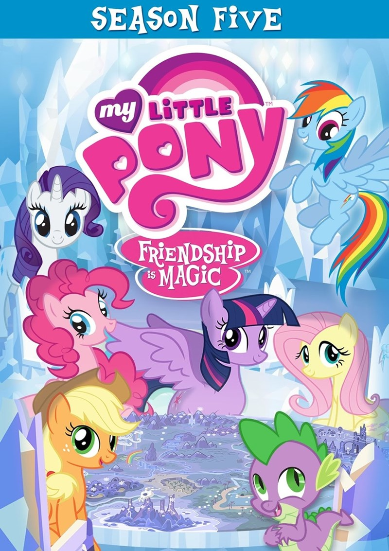 spike applejack twilight sparkle DVD pinkie pie rarity season 5 fluttershy rainbow dash - 8765525760