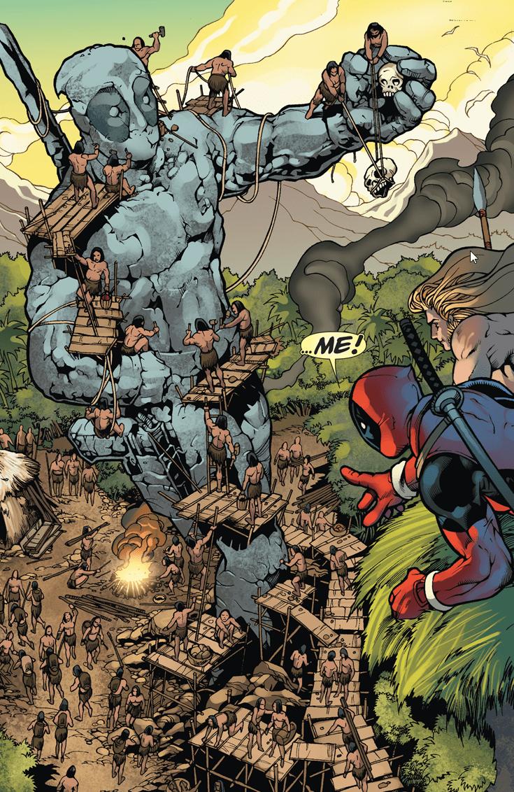 deadpool-comics-statue-superheroes-funny-vanity