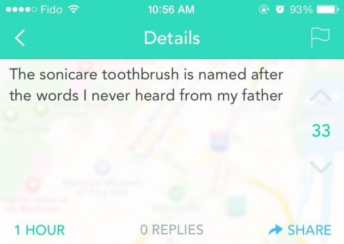 toothbrush sad puns That's Why I Use It Every Day