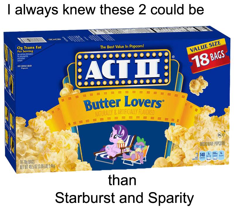 spike shipping starlight glimmer puns Popcorn - 8765761280