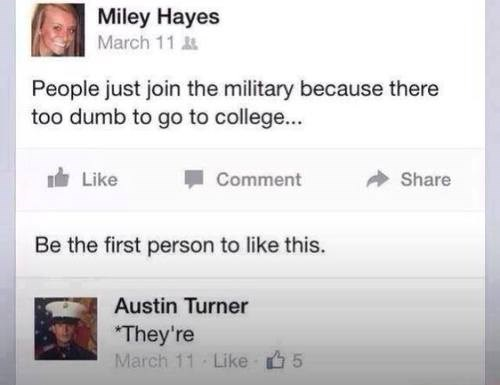 military failbook grammar burn