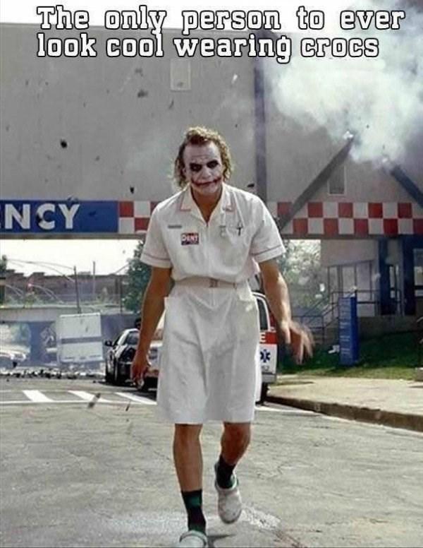 heath-ledger-superheroes-joker-outfit-hospital-crocs