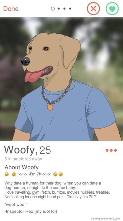dating doghuman wins tinder and life