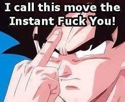 anime Dragon Ball Z manga insult - 8766385152