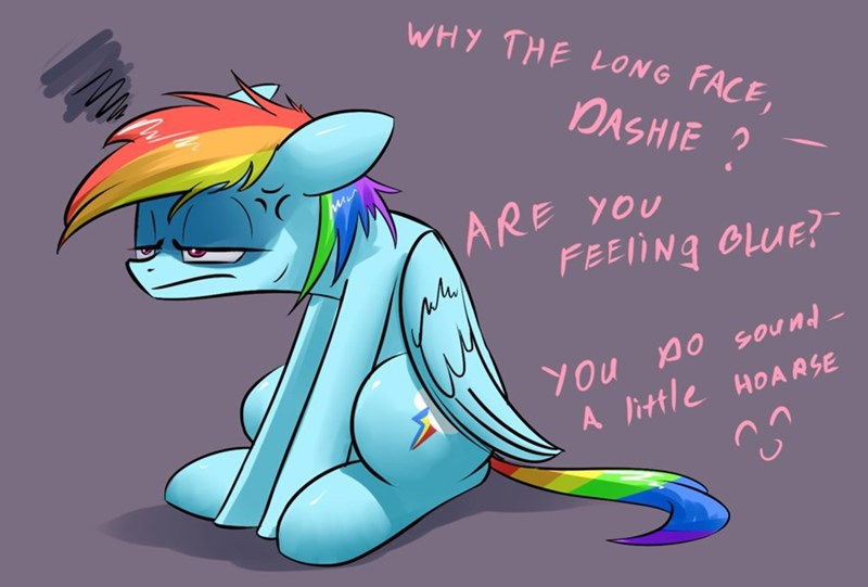puns,rainbow dash