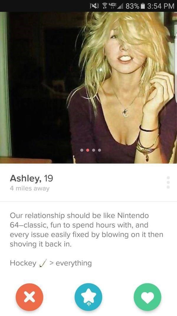 tinder girl relationship like nintendo 64
