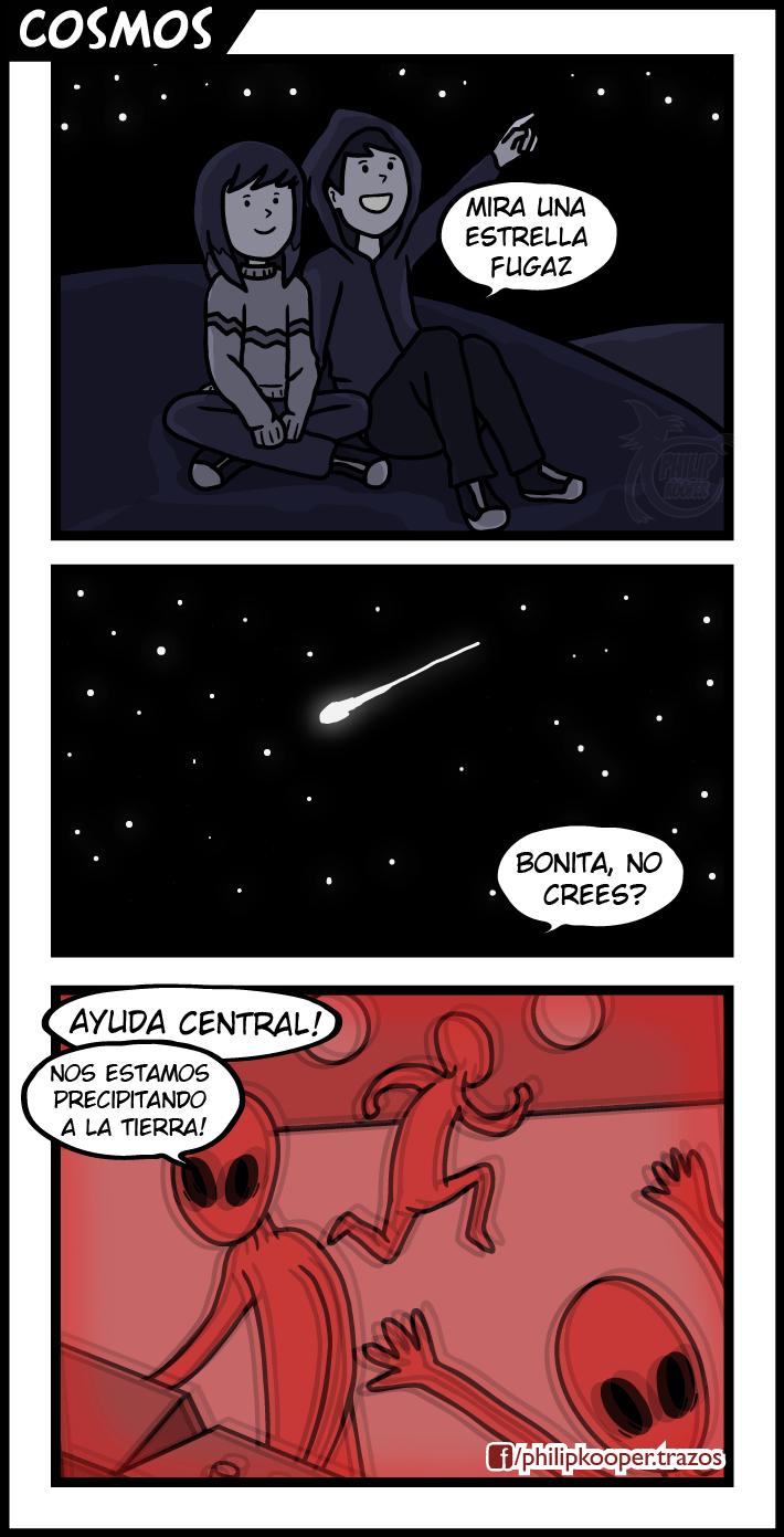 piense en los aliens