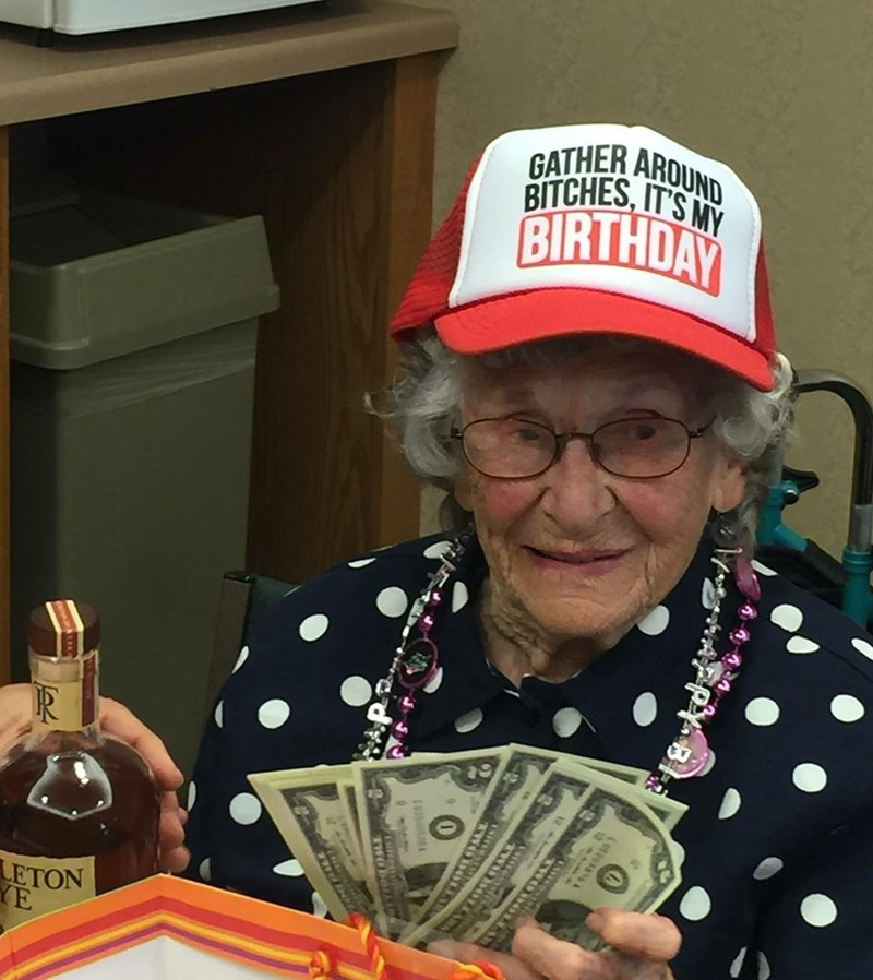 turnt,birthday,grandma,Party