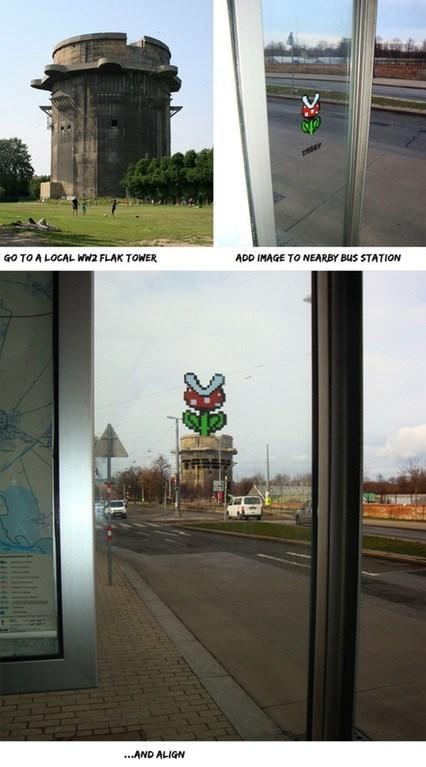 super mario street art That Street Art Is Pretty Super