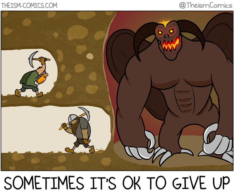 dungeon lol digging web comics monster - 8767463936