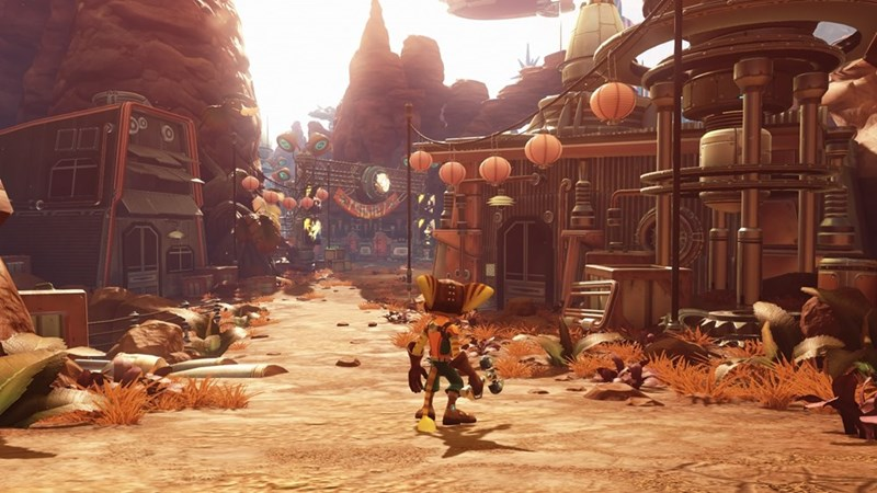video-games-ratchet-and-clank-screenshot-pretty-graphics