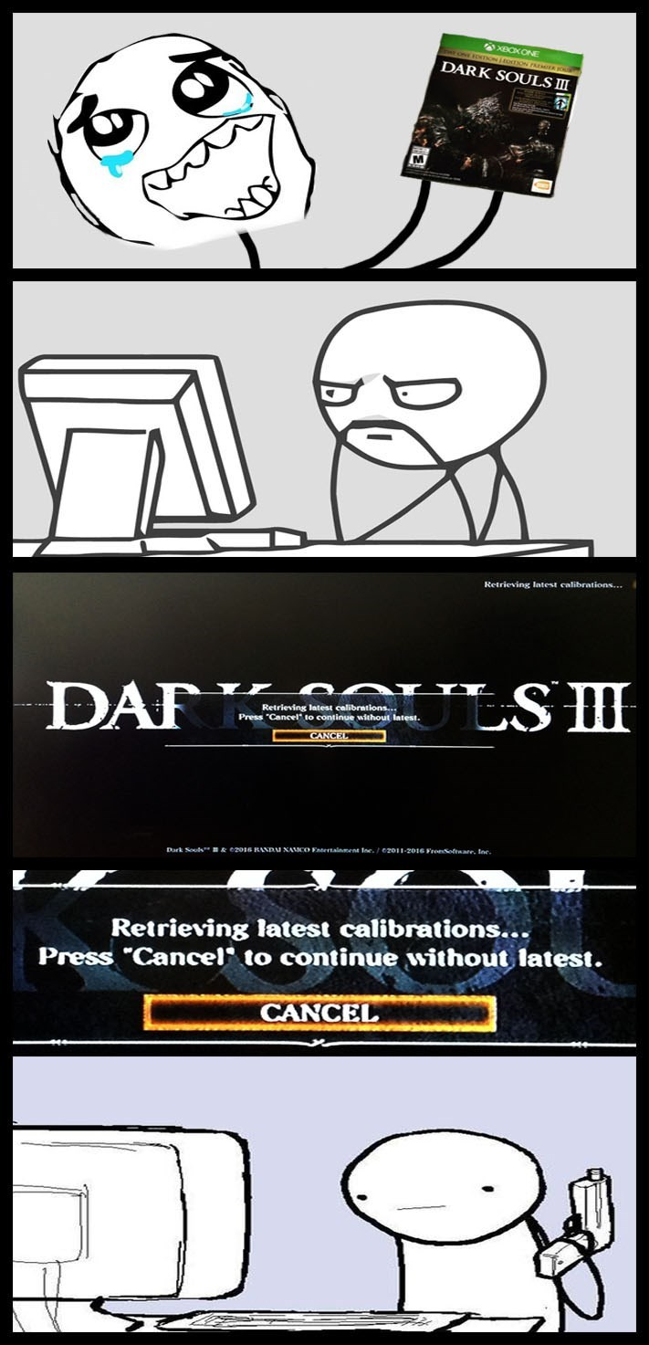 Video Game Coverage trolling dark souls video games dark souls 3 - 8767654912