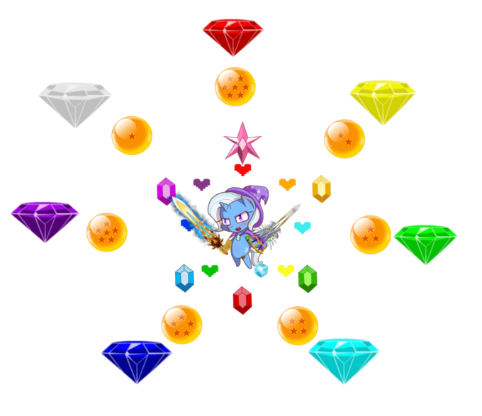 the great and powerful trixie marvel god of war infinity gauntlet kingdom hearts DC cosmic cube sonic the hedgehog undertale dragonball Green lantern chaos emerald - 8768172288