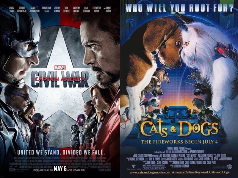 movie posters captain america Spoilers: It's Practically the Same Movie