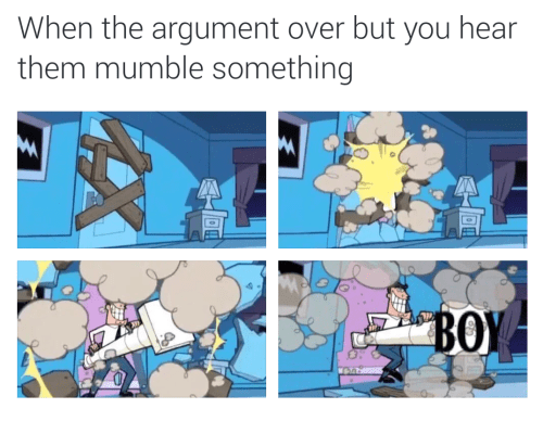 argument fairly oddparents memes What Was That?