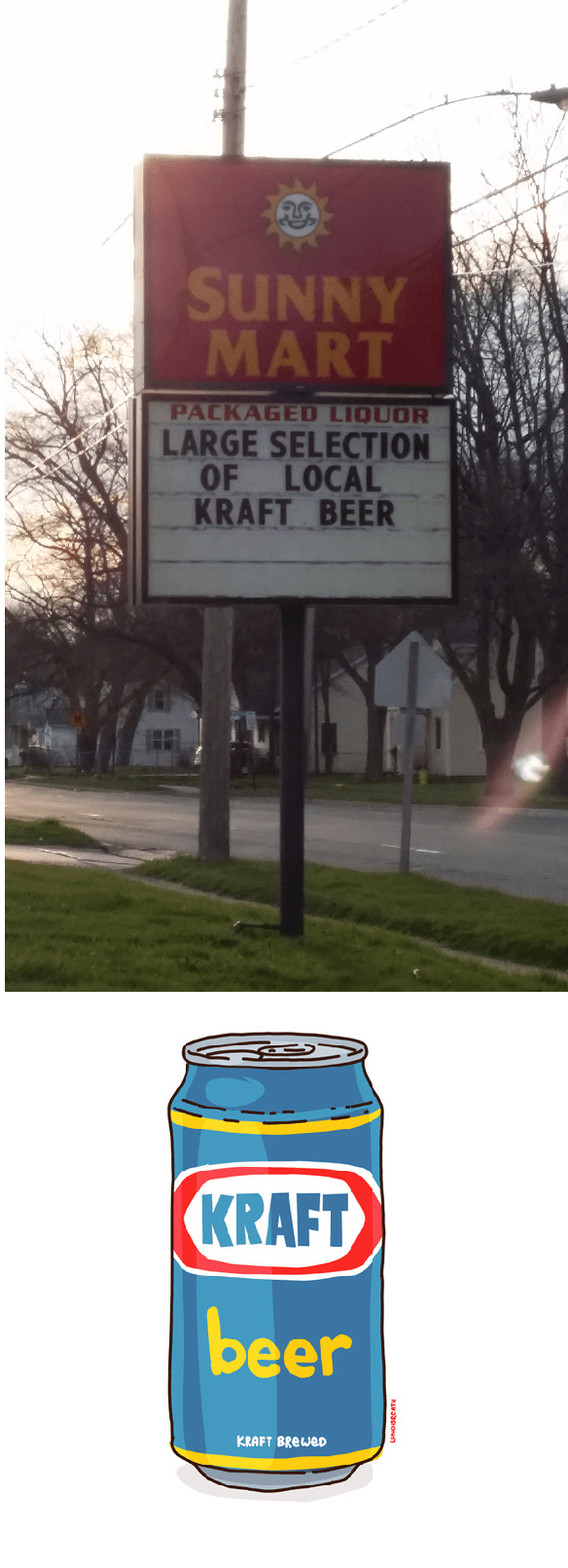 beer sign food spelling - 8768366848