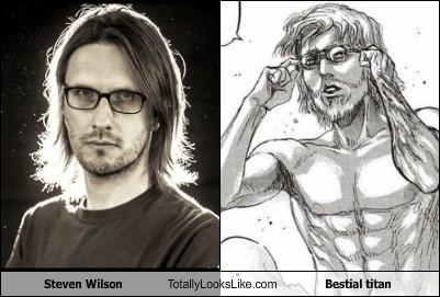 Steven Wilson Totally Looks Like Bestial titan