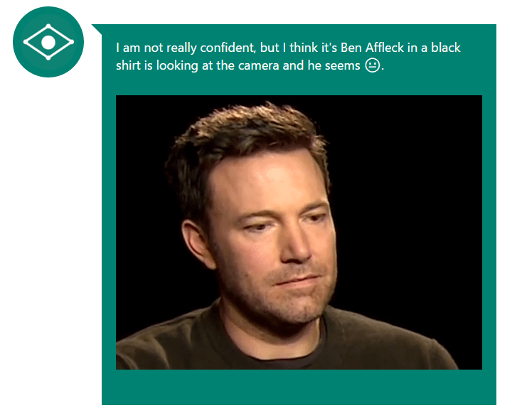 sad ben affleck caption bot Nailed It