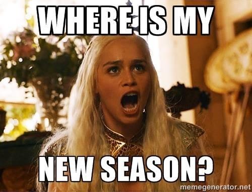 where is my new season