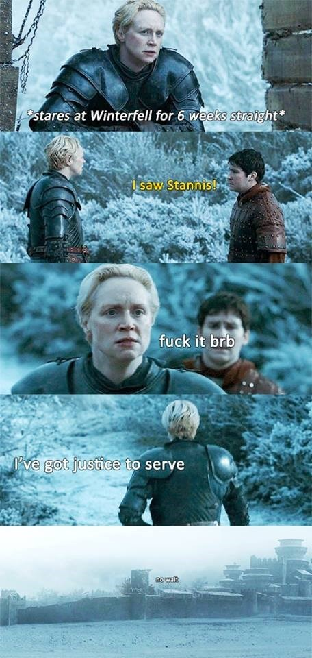 brienne gets justice sortof