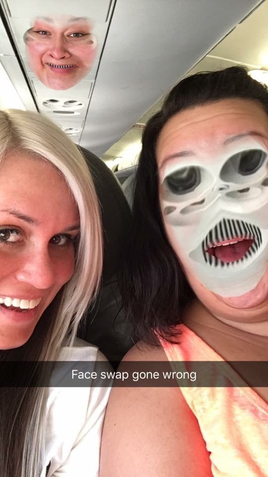 funny fail image face swap fail with airplane