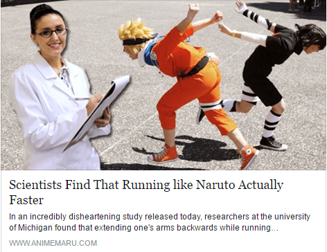 science anime running So That's Why They Run Like That