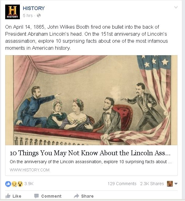 lincoln failbook facebook - 8768701440