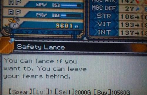 puns,lance,video games