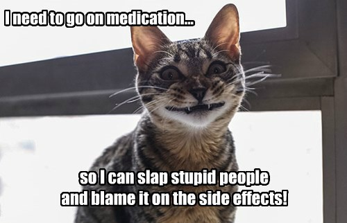 Love those side effects!